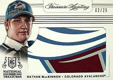 2013-14 National Treasures Nathan MacKinnon Treasure Hunting Draft Table /25
