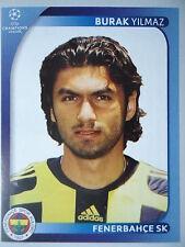 Panini 276 Burak Yilmaz Fenerbahce SK UEFA CL 2008/09