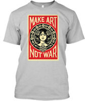 Off-the-rack Make Art Not War - Hanes Tagless Tee Hanes Tagless Tee T-Shirt
