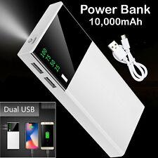 10000mAH Digital Power Bank Cargador De Batería De Respaldo De Puerto Usb Doble bancos para teléfono