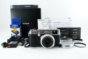 Fujifilm X100F 24.3 MP Digital Camera - Silver From JAPAN Excellent+++