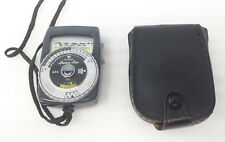 Gossen Luna Pro ASA Light Meter With Carrying Case