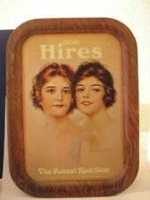 HIRES ROOT BEER METAL TRAY, GOOD CONDITION