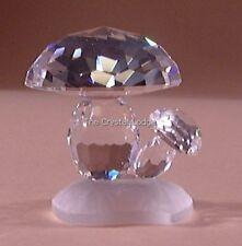 Swarovski Crystal champignons/Champignons 119206 Comme neuf boxed RETRAITÉ RARE