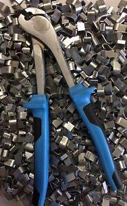 J-clip Pliers Heavy Duty FREE SHIPPING J- clips plier w/ 2 lbs of J-clips jclips