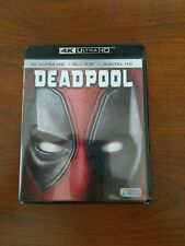 Deadpool 4K Ultra HD + Blu-ray, 2016, 2-Disc Ryan Reynolds
