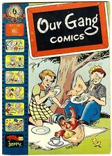 Our Gang Comics #36 (Dell 1947; vf- 7.5) Carl Barks art. Guide: $63.00 (£42.00)