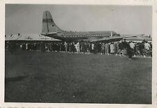 PHOTO ANCIENNE - VINTAGE SNAPSHOT - AVION PAN AMERICAN ORLY - PLANE AIRPORT