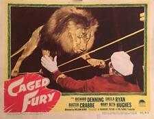 CAGED FURY 1948 RARE CRIME FILM ON DVD  UNCUT !!!