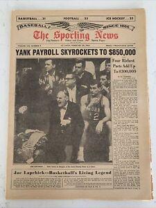 The Sporting News February 20, 1965 Joe Lapchick Basketball, Mickey Mantle,(B57)