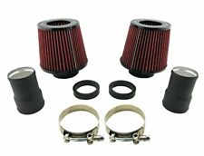 N54 Dual Cone Filter Air Intake Kit for BMW 135i 335i 535i Z4 3.0L Twin Turbo I6