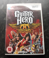 Nintendo Wii Game Guitar Hero Aerosmith Hits Collection used condition