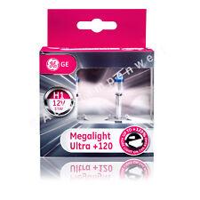 GE Megalight Ultra H1 Halogen Plus 120% DuoPack (2 Stück Glühlampen)