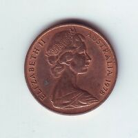 1978 2 Two Cent Cents Coin Australia  Q-592