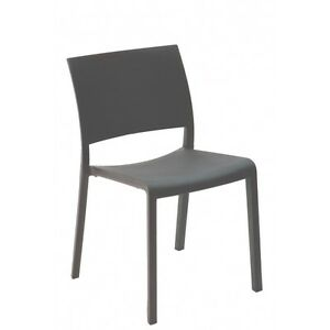 *NEW* CHAIR RESTAURANT RESOL FIONA DARK GREY COMBO (MADE IN SPAIN) (4 units)