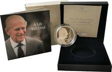 5 Pfund Großbritannien Prinz Philip Herzog von Edinburgh 2021 Silber PP Proof