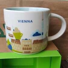 Starbucks YAH Mug VIENNA Wien Austria 14oz you are here * FREE SHIPPING* NEW NEU
