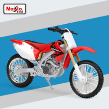 Maisto 31104 1:12 Scale Honda CRF450R Motorcycle Diecast Model Toy With Case