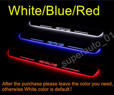 Outer Door Sill Scuff Plate Guards Sill Trim For 2013-2015 Toyota RAV4 LED 2pcs