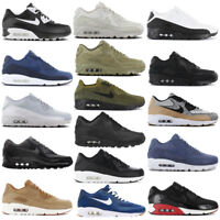 Nike Air Max 90 Premium Leather Ultra Essential 2.0 Herren Sneaker Schuhe NEU