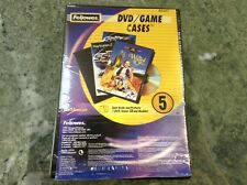 Fellowes DVD Game Cases 5 Pack