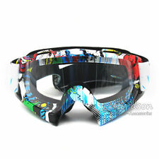 Motocross Adult Motorrad Dirt Bike ATV MX Off-Road Goggles Farbige Linse Neu