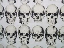 Rad Skull Natural Alexander Henry Fabric Yard