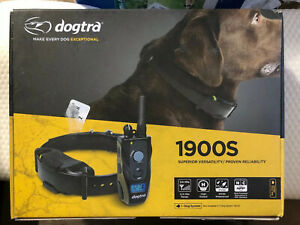 Dogtra 1900S – Ergonomic 3/4-Mile IPX9K Waterproof High-Output Remote Dog Traini