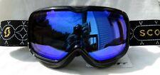 $110 Scott Womens Aura Sequin Black Ski Goggles snow smith Winter Yellow Lens