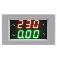 Voltimetro Amperimetro Digital + Transformador de Corriente CA +Mide el Vol B4M2