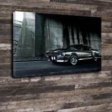 "Eleanor Shelby GT500 Mustang Printed Canvas A1.30""x20"" 30mm Frame 60 Seconds"