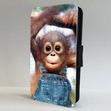 Cute Monkey Organutang Baby FLIP PHONE CASE COVER for IPHONE SAMSUNG