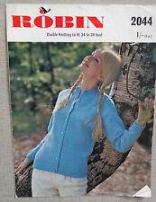 "VINTAGE modello per donna Cardigan in DK Taglie 34 - 38"""
