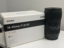 CANON SIGMA 18-35mm f1.8 DC ART LENS (LIGHTLY USED) #FAST SHIPPING