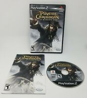 Pirates of the Caribbean At World's End Sony PlayStation 2 PS2 Disney Video Game
