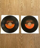 Abba 45 RPM Lot Of Two Dancing Queen, Knowing Me, Knowing You Atlantic Records