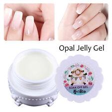 Opal Jelly Gel Nail UV Gel Polish Semi-transparent White Soak Off Manicure DIY