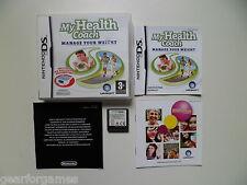 Nintendo DS GAME PAL La mia salute Coach gestisci il tuo peso Testato
