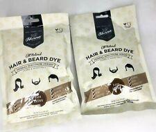 Henna Color Lab Dark Brown NEW All Natural Hair & Beard Dye Lot of 2