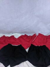 Vtg 80s 90s Soffe Shorts Lot Black Red Sz Small Medium Read Made In USA