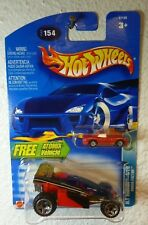 FREE ATOMIX RED MINI CAR Alt Terrain Series 2003 HOT WHEELS SHOCK FACTOR #154