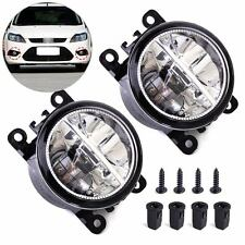 2x Right Left LED Fog Light Fit For Ford Focus Honda Acura Lincoln Nissan Suzuki