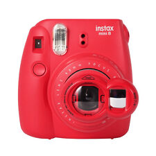 Close Up Lens+Selfie Mirror for Fujifilm Instax Mini 8 7s Polaroid 300 - Red