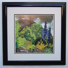 "Frank Johnston, Group of Seven ""Approaching Storm, Algoma"" in Black Frame"