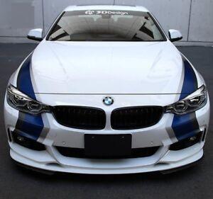 M Racing Rally Sticker Stripes Decal Custom for BMW 1/2/3/4/5 M3M4M5 X1/X3