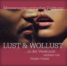 Livre audio CD Plaisir et Luxure œoeuvres artistiques der érotique Joint 2CDs