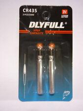 Yad LED Posen Ersatzbatterie Stabbatterie 2 Stk. CR435 3V Lithium Batterie