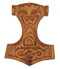 Battle Merchant Wandschmuck Mjölnir Thorshammer 28x22cm Deko Mittelalter LARP