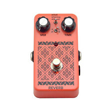 Hand Made LANDTONE Reverb Guitar Effects Pedal True Bypass Free Shipping