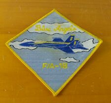 Blue Angels FA 18 Hornet US Navy Military Patch Blue Angels Navy Sew On Patch
